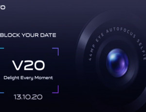 Vivo V20 reaches to India on 13th October 2020 News Image